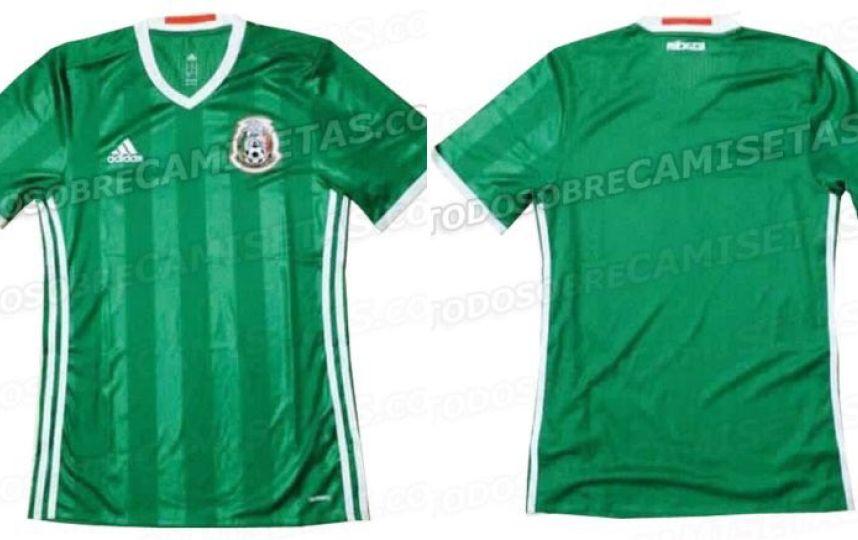 Se filtra la posible playera de la Selección Mexicana para el 2016 b07a04b905398